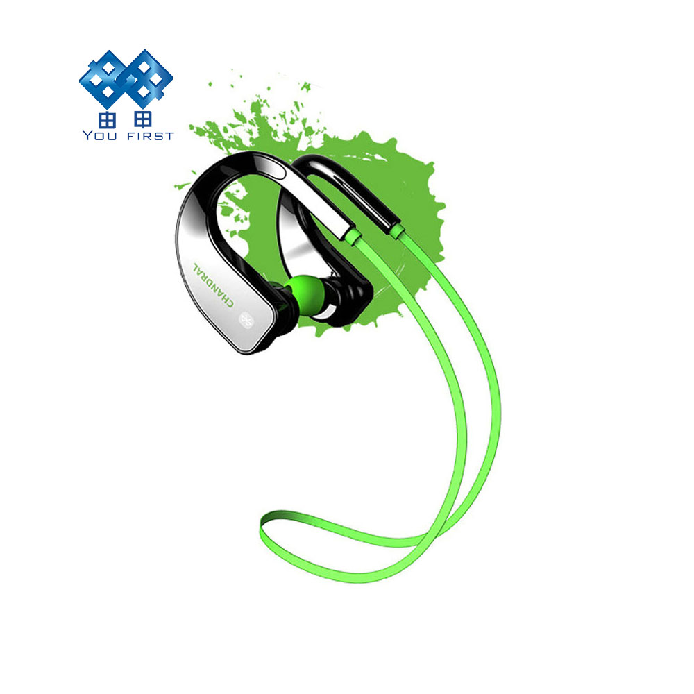 YOU FIRST sport headphones bluetooth stereo wireless earphone waterproof ear phone Noise Cancelling Portable With Microphone new kz zs3 in ear headphones stereo headset ear hook running sport earphone noise cancelling earbuds headphones with microphone