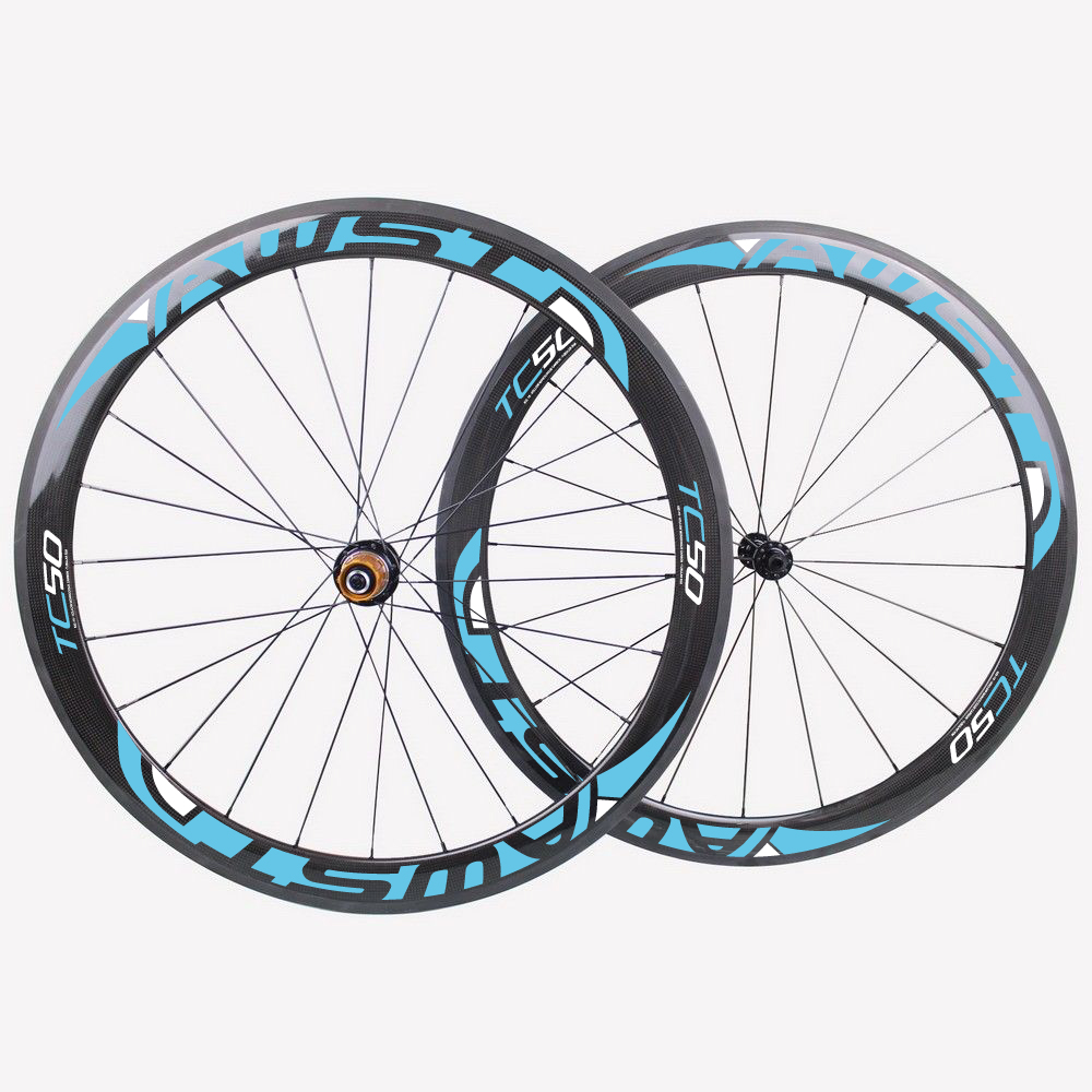 Powerway R36 hubs T800 3K weave carbon Wheels full Carbon fiber Wheelset 50mm Carbono road bike wheels carbon bicycle wheels mountain bike four perlin disc hubs 32 holes high quality lightweight flexible rotation bicycle hubs bzh002