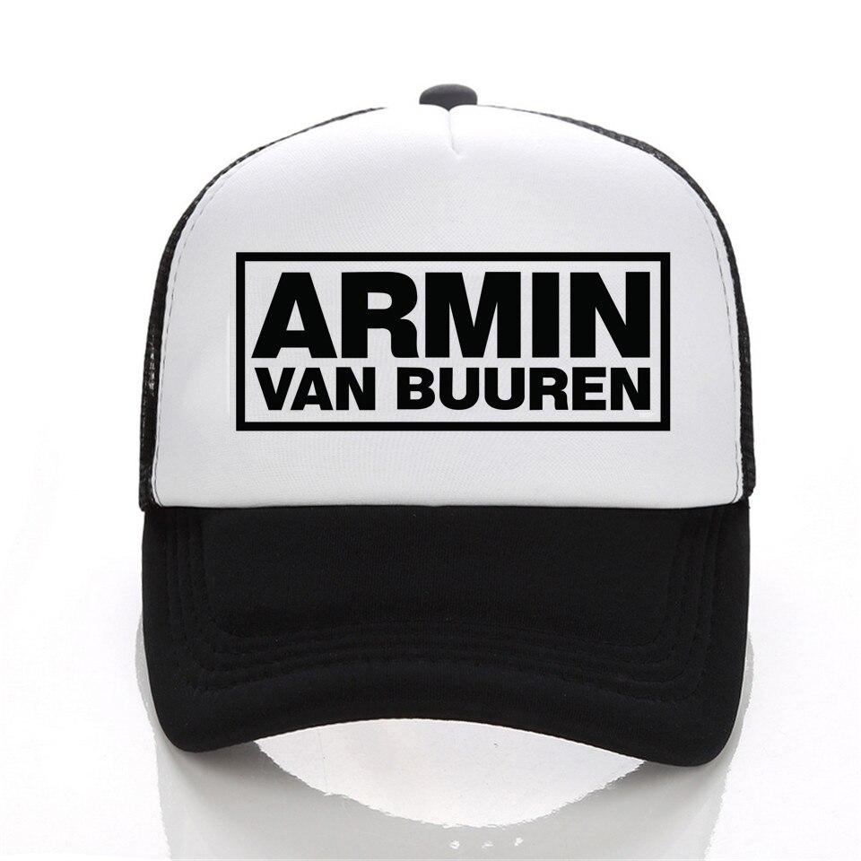 Prix pour Armin Van Buuren Ensemble Dans Un État de Transe Lettre Imprimer cap Populaire Musique DJ casquette de baseball Coton Femmes Hommes Chapeau Snapback