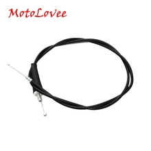 Motolovee Motorcycle Throttle Cable Oil Wire Motor Bicycle Throttle Line free shipping brand new motorcycle throttle cable throttle wire for yamaha v star ds400 650 guaranteed 100