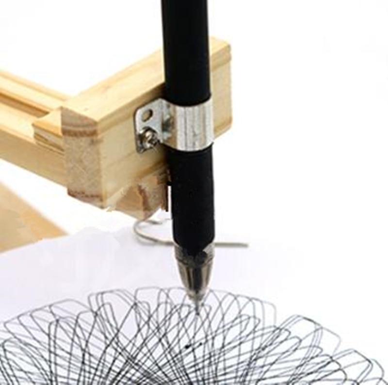 Happyxuan DIY Listrik Plotter Menggambar Robot Kit Fisika Ilmiah - Mainan bangunan dan konstruksi - Foto 4