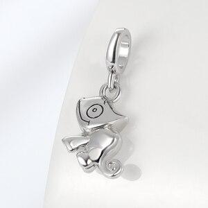 Image 2 - Ciondoli lucertola STEP advance 100% argento Sterling 925 camaleonte collana con bracciale originale con ciondolo per ciondolo da donna