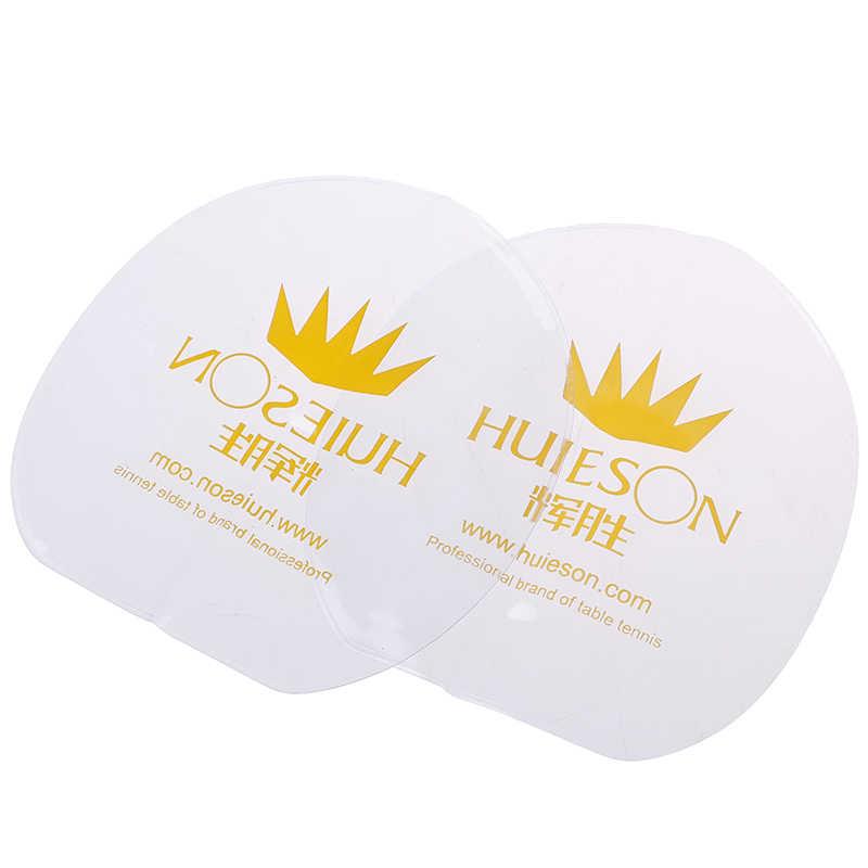 2pcs Rubber Protective Film PVC Transparent Table Tennis Racket Care Accessories