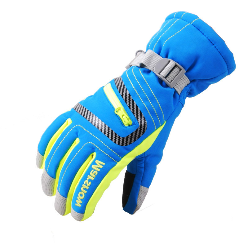 MARSNOW Winter Outdoor Waterproof <font><b>Warm</b></font> Skiing <font><b>Gloves</b></font> Men Women Children Climbing Snowboarding Sports Cotton <font><b>Gloves</b></font> -30 Degree