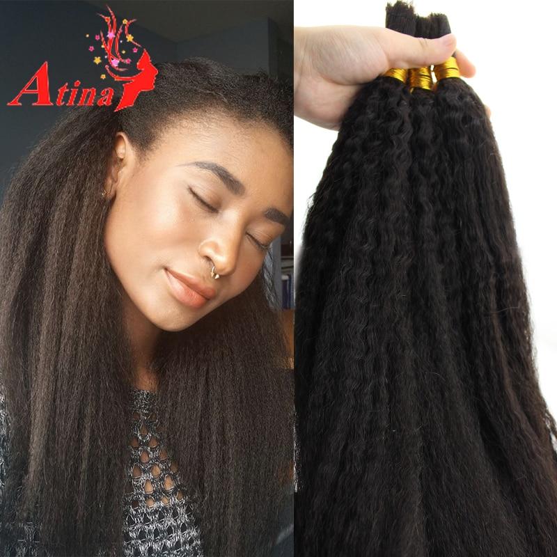 7a Unprocessed Mongolian Coarse Yaki Afro Kinky Straight