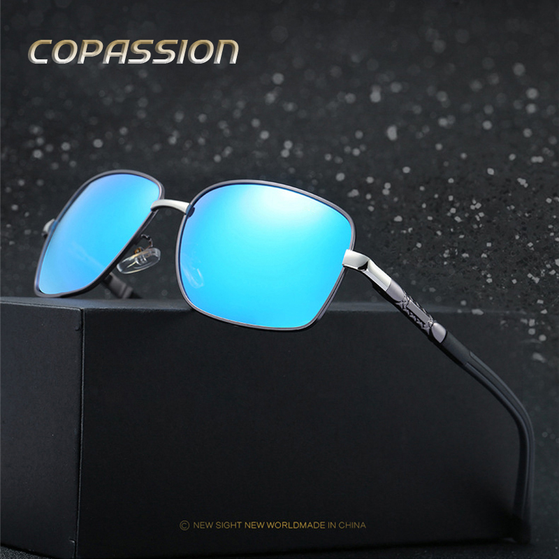 Aluminum Magnesium Brand Polarized Sunglasses Men Women Aviation Sunglass Polaroid lenses Male Eyewear Sun glases oculos de sol