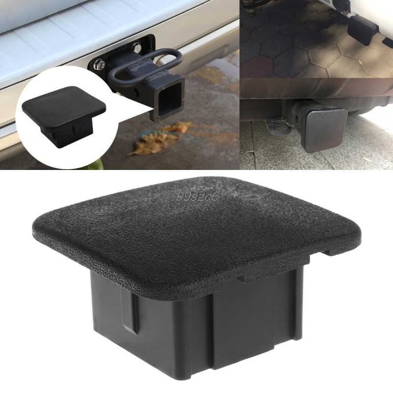 Universal 2 Trailer Hitch Tube Cover Plug Receiver Dust Protecter For Jeep Ford GMC High Quality Car Styling DropShip