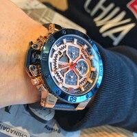 新しい NAVIFORCE 男性腕時計ファッションスポーツクォーツ時計革メンズ防水腕時計トップブランドビジネスレロジオ Masculino 2019