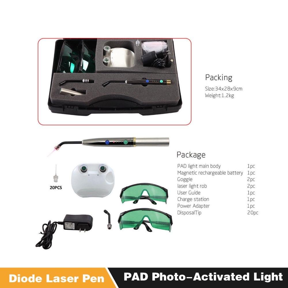 Dentale Laser Sistema di Guarire Diodo Laser Foto-Attivato Morbido Tessuto Penna Laser LampadaDentale Laser Sistema di Guarire Diodo Laser Foto-Attivato Morbido Tessuto Penna Laser Lampada