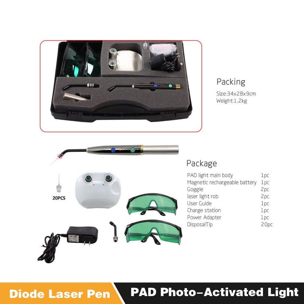 Système de Laser dentaire guérir la Diode Laser photo-activée lampe de stylo Laser de tissu mou