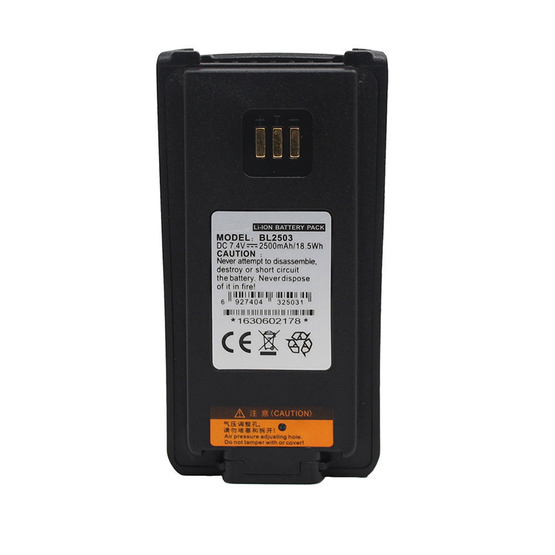 HYTERA BL2008 BL2006 BL2503 2500mAh Li-Ion Battery For HYTERA PD700 PD700G PD785G PD785 PD702 PD700S PD780 PD782 PD880 Radio