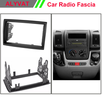 For PEUGEOT CITROEN Jumper 2006+ Boxer 2006+ FIAT Ducato 2006+ Radio CD DVD Audio Dash Mount Trim Kit Fascia Frame