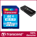 Марка Transcend Wi-Fi SD Card 32 ГБ Class 10 Карты Памяти Flash карты и Карт-Ридер Для Canon Nikon Casio FujiFilm Olympus Камеры