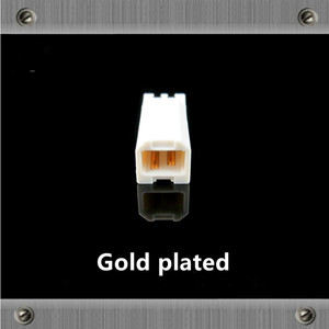 Image 4 - Gold Plated Copper  USB interface Type A Type B Male jack usb Connectors adapter for Audio cable DAC  Printer line diy usb cable