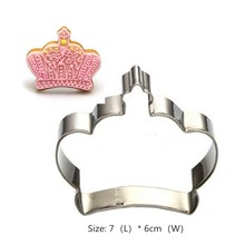 Mold Stencil Template-Mold Cookie-Tools Cupcake Crown Decoration Fondant Baking Kitchen