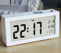 Simple Large Screen LED Clock Large Font Electronic Clock Personalized Noctilucent Bedside Clock Office Desktop Light