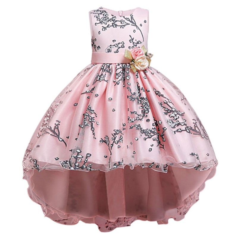 Flower-Girl-Wedding-Evening-Party-Dresses-Lace-Tailing-Formal-Kids-Dresses-For-Girls-Princess-Dress-Teenage