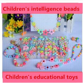 Cegueira de contas feitas à mão em crianças na primeira infância educacional brinquedos produto correto 24 caixas de Ambliopia