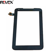 RLGVQDX NEW Touch Screen Digitizer For Lenovo IdeaTab A1000L 7 inch Front Glass Replacement for new touch screen digitizer glass replacement huawei mediapad 7 youth2 youth 2 s7 721u s7 721 7 inch black free shipping