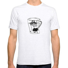 Male Best Selling T Shirt Short Sleeve Printing Machine O-Neck Mens  Tea Time Shirts