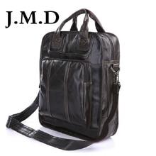 J M D New Arrival Vintage Cow Leather Style Men S Hik Ing Travel Bag Backpacks Casual Shoulder