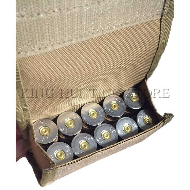 العسكرية الصيد رخوة الذخيرة الناقل في الهواء الطلق الألوان التكتيكية البسيطة 10 جولات رصاصة الحقيبة