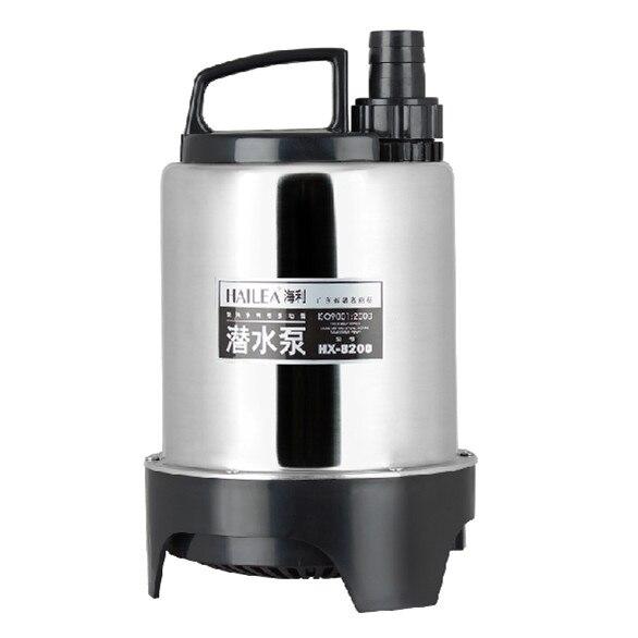 HAILEA Stainless steel multi function submersible pump Gardening Pond Landscaping Fountain Pump Irrigation Water jet Pump