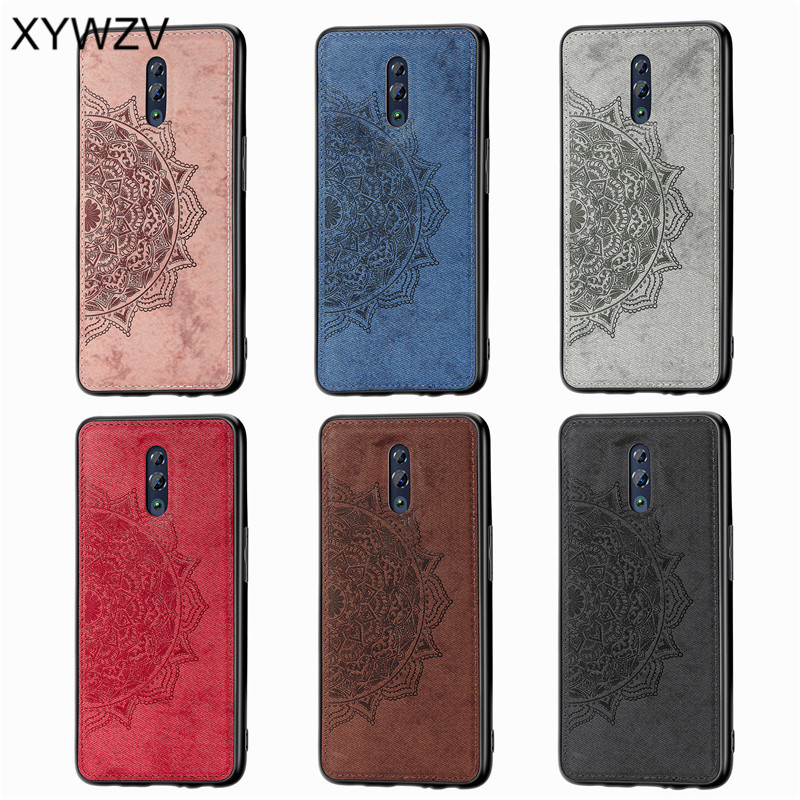 Image 5 - For OPPO RenO Case Shockproof Cover Soft Rubber Silicone Luxury Cloth Texture Phone Case For OPPO RENO Back Cover For Oppo Reno-in Fitted Cases from Cellphones & Telecommunications