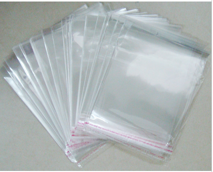 OMH Bán Buôn 50 CÁI 5x7 18x23 cm hai lớp OPP dán tự kết dính Trong Suốt túi nhựa đồ trang sức Bao Bì túi Quà Tặng túi