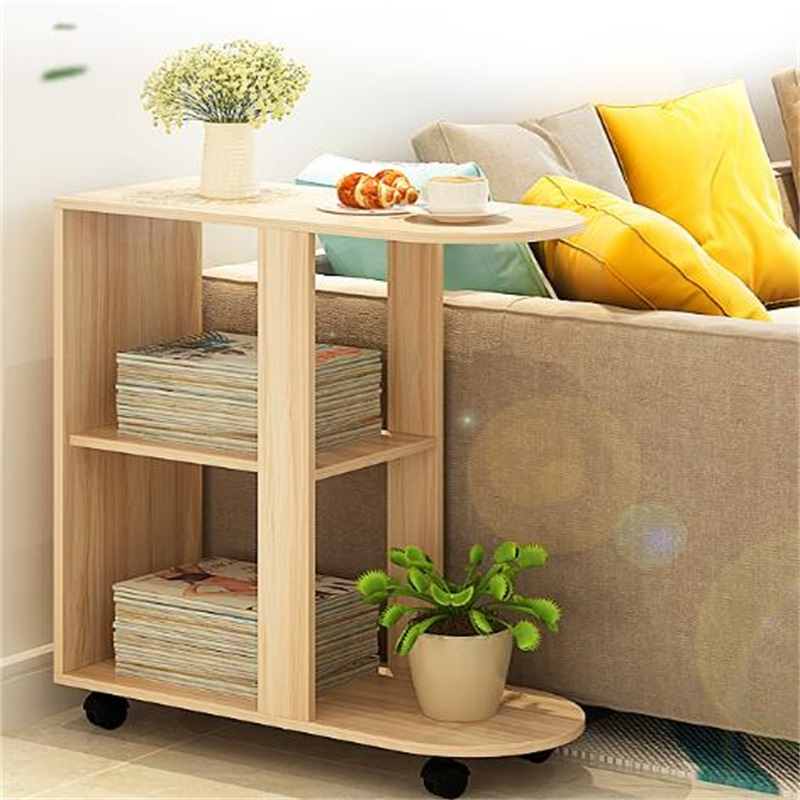 60x30x66CM Wood Bedside Table Modern Sofa Side Table Living Room Storage Cabinet With Wheels 42x36x76cm modern wood bedside table sofa side coffee table living room storage cabinet wheels