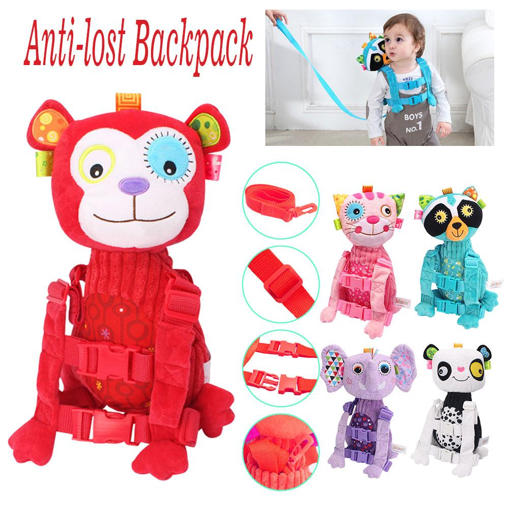 Kids Baby Keeper Safety Harness Toddler Bag Walking Safety Harness Child Anti-lost Backpack Leash Strap Walking Aid
