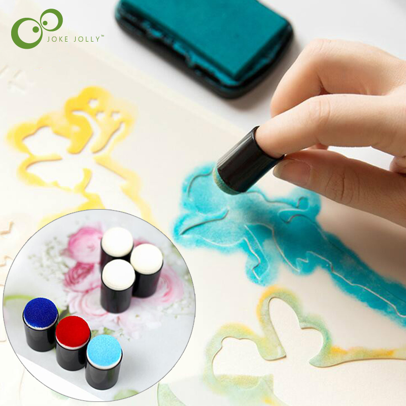 Ensemble artisanal en mousse pour les doigts, 5 pièces, ensemble artisanal de peinture sur les doigts, dessin en éponge, craie à l'encre GYH