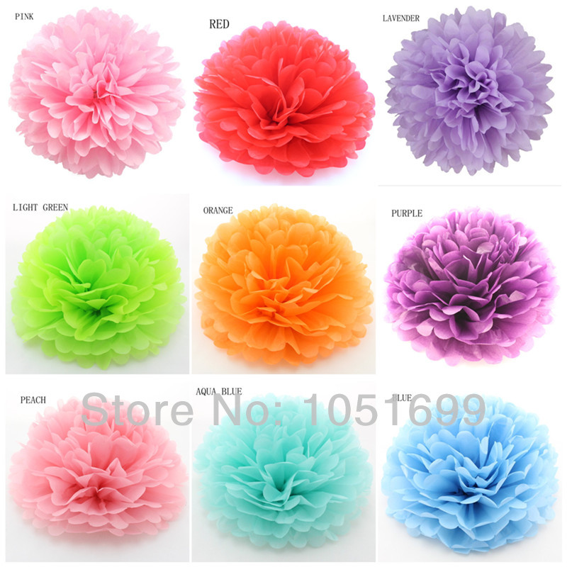 380pcs 8 20cm36cm beautiful tissue paper pom poms ball best 380pcs 8 20cm36cm beautiful tissue paper pom poms ball best decorative flowers for wedding garden decoration free shipping in artificial dried mightylinksfo