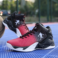 Man High top Jordan Basketball Shoes Men's Cushioning Light Basketball Sneakers Anti skid Breathable Outdoor Sports Jordan Shoes