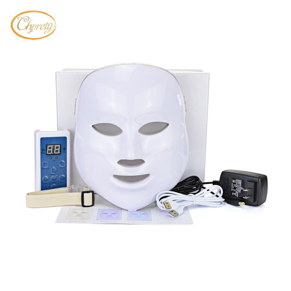 7 Colors Light Photon LED IPL PDT Facial Mask Skin Rejuvenation Beauty Therapy Wrinkles , Moisturizing, Nutrition facial care colbert md daily nutrition for skin intensify facial discs