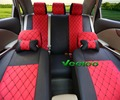 Veeleo + 7 Colors Universal Car Seat Cover For Geely Englon Kingkong GX7 Gleagle JL HQ MK Car covers with 3D Flax & Silk