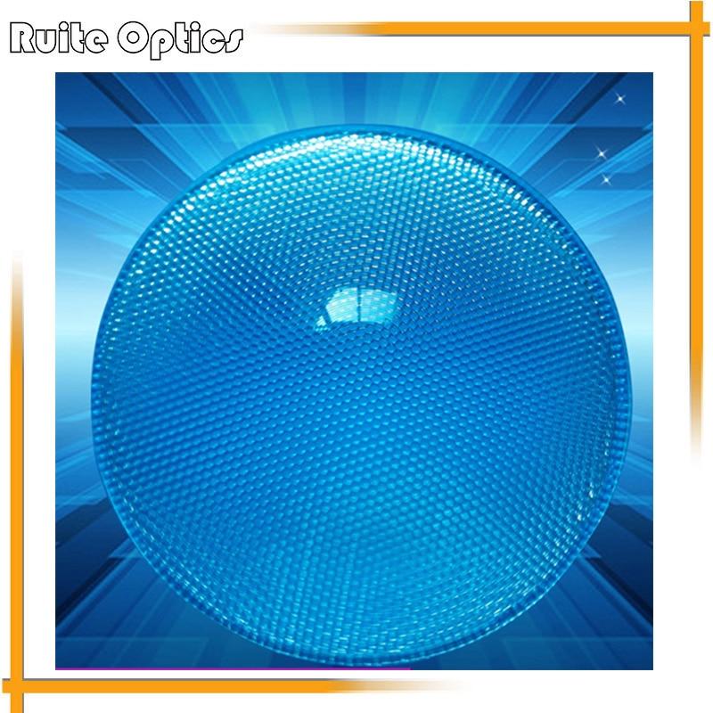 2 pièces 150mm grand optique PMMA plastique rond condensation solaire composé oeil Fresnel lentille améliorant la luminosité de la longueur focale de la lumière
