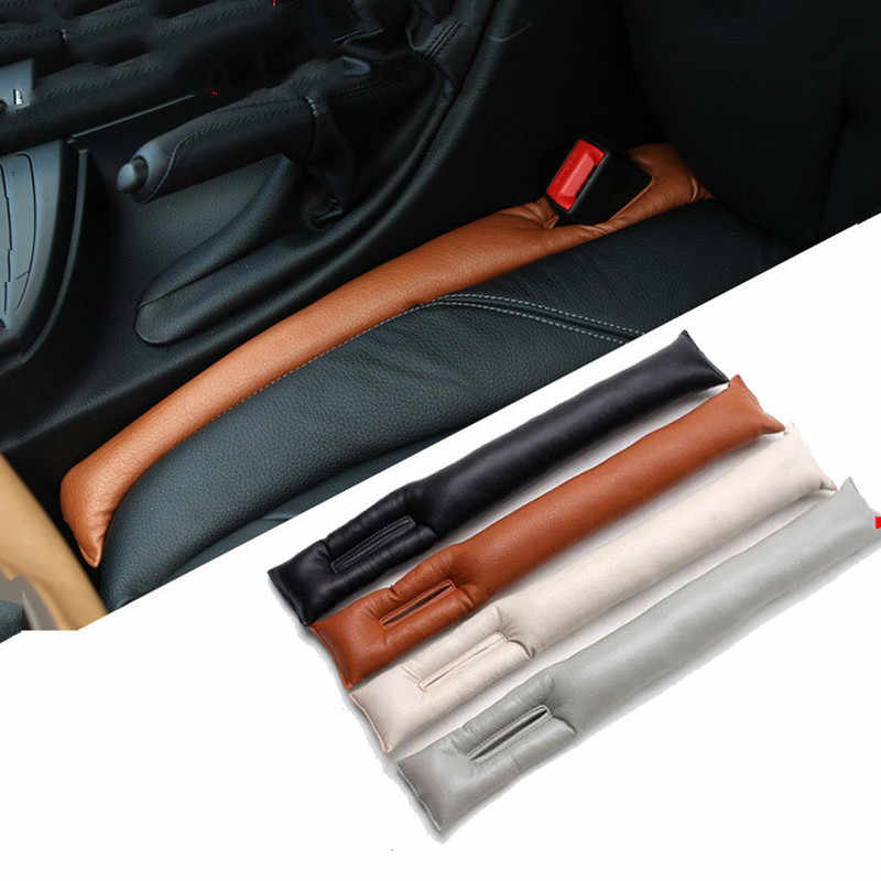 2 Pcs Car Seat Gap Pad Padding Space Filler สำหรับ BMW E46 E39 E90 E36 E60 E34 E30 F30 f10 X5 E53 X1 X3 X4 รถอุปกรณ์เสริม