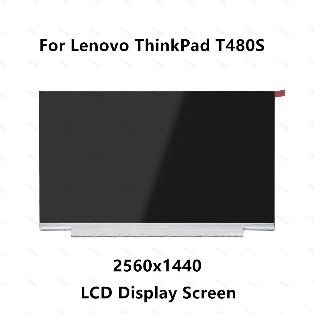 14.0 WQHD IPS LCD LED Screen Display Panel Matrix Non Touch 2560x1440 40 pins Matte For Lenovo ThinkPad Laptop T480S 20L7 20L814.0 WQHD IPS LCD LED Screen Display Panel Matrix Non Touch 2560x1440 40 pins Matte For Lenovo ThinkPad Laptop T480S 20L7 20L8