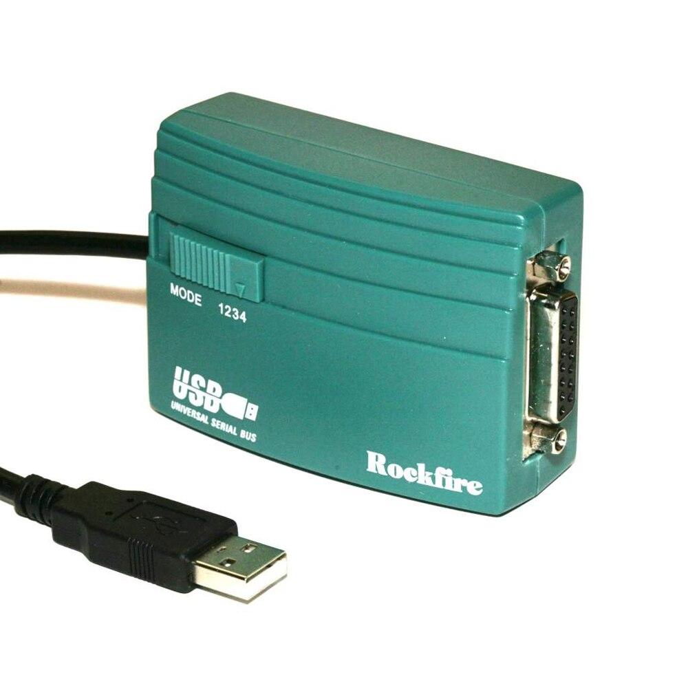 Image 3 - NEW USB to 15 Pin Female MIDI Joystick Game Port Adapter Nest Converter Rockfire 15 P RM 203 GAMEPORT 98/ME/2000/XP *FD047Connectors   -