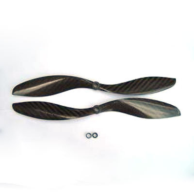 2 Pairs 1047 <font><b>10X4.5</b></font> Carbon Fiber Propeller CW/CCW for QuadCoptor image