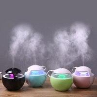 Mini Humidifier Night Elf Ultrasonic Humidifiers LED Magic light Essential Oil Aroma Diffuser USB Car Air freshener