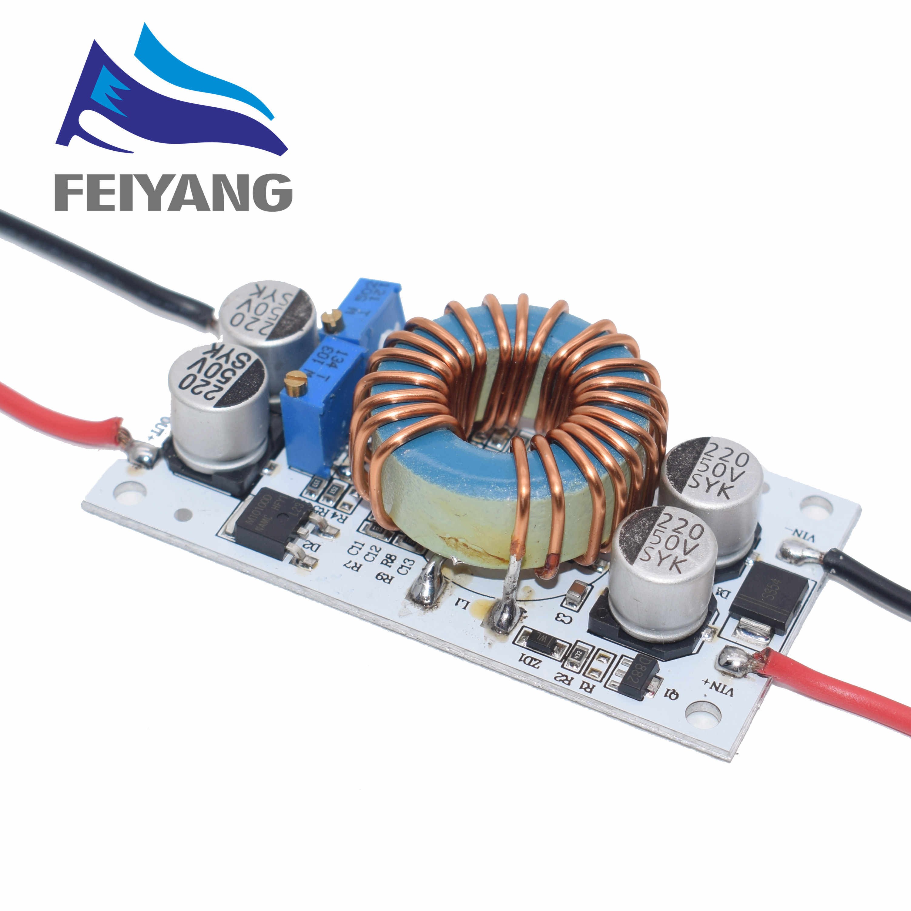 DC-DC Boost Converter Konstan Saat Ini Ponsel Power Supply 10A 250W LED Driver