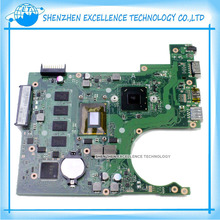 wholesale For Asus X200CA Laptop Motherboard 8 pcs of storage mainboard Top quality in stock