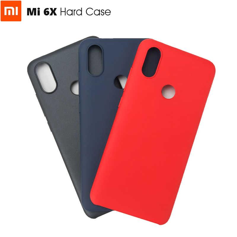 Oficial Original Xiao mi mi 6X Hard Case para Xiao mi mi 6X Material Fino Novo Estilo de Moda de Alta Qualidade proteção PC + Revestimento