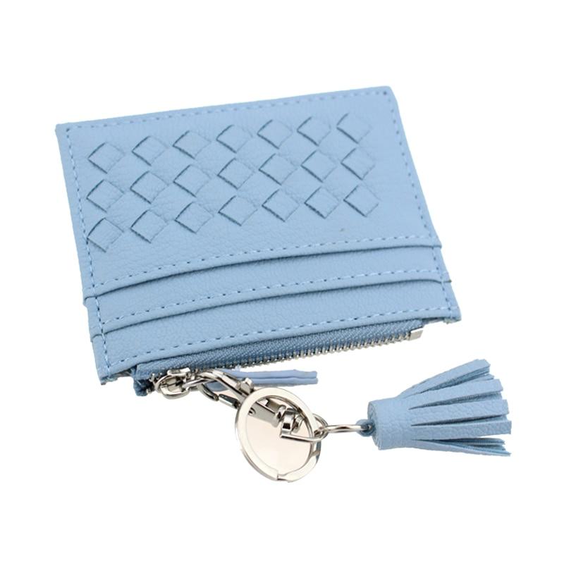 Unishow Tassel Knitting Credit Card Holder Women Small Card ...
