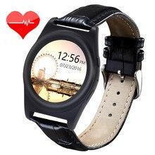 อัตราการเต้นหัวใจติดตามa8บลูทูธsmart watchผู้ชายผู้หญิงr eloj inteligente w earableกีฬานาฬิกาข้อมือpedometerสายหนังpk a9