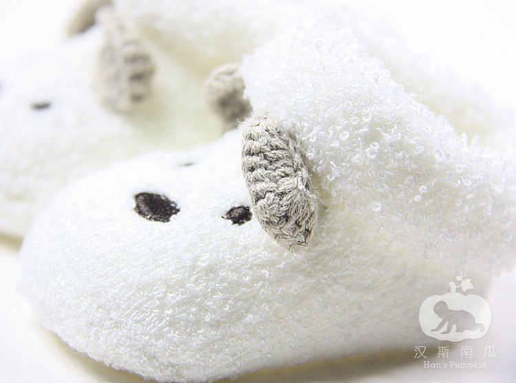 תינוק בן יומו תינוקות פעוט בני בנות דוב עריסה חם נעלי חורף ילדי גרב נעלי Sapatos meias infantis