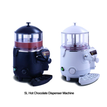 ITOP 5L Hot Chocolate Dispenser Machine Commercial Perfect for Cafe, Party Black And White Color