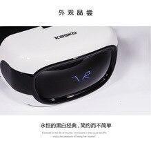 NOVA kasko Inteligente 3 d óculos de realidade virtual imersiva VR VR head-mounted cinema máquina Tudo Em UM suporte o CARTÃO DO TF